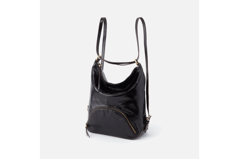 Verse Convertible Bucket in Black by Hobo Bags