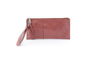 Vida Wristlet in Burnished Rose By Hobo Bags
