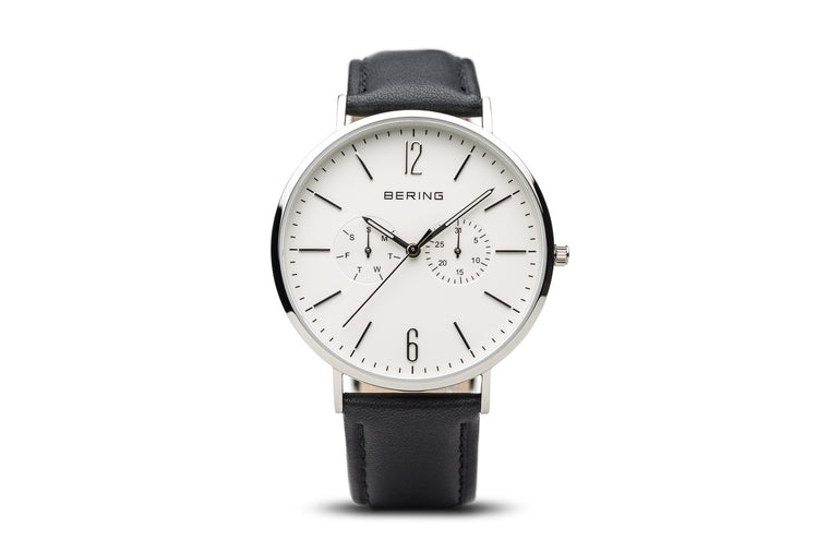 Polished Silver Watch - Bering