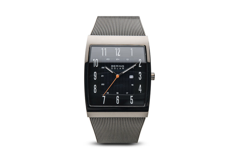 Solar - Polished Grey Watch - Bering