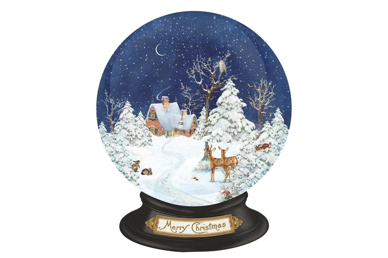 Forest Snow Globe Advent Calendar