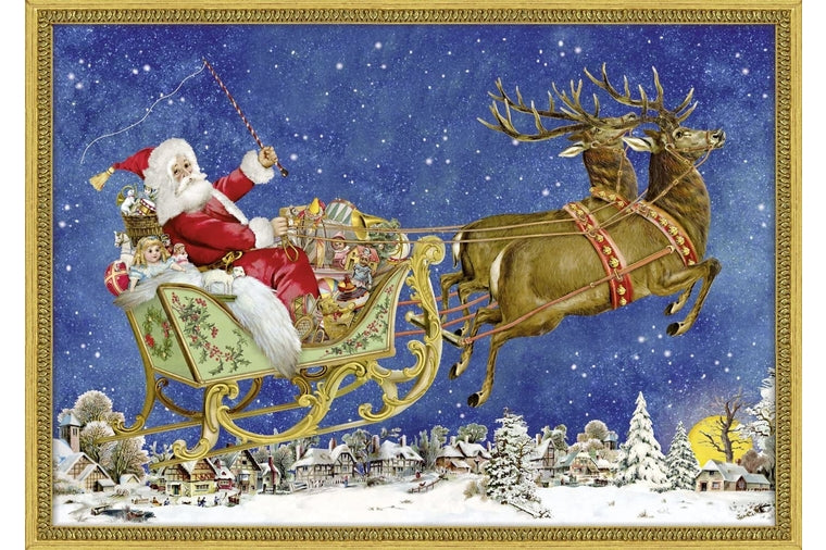 Victorian Sleigh Advent Calendar