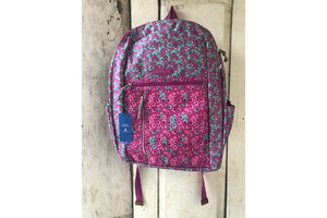 Vera Bradley - Grand Backpack - Ditsy Dot