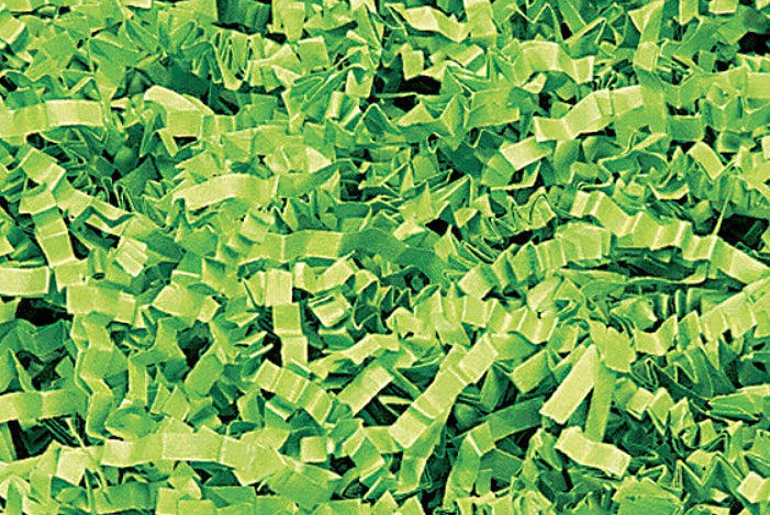 Lime Green Decorative Shredded Paper