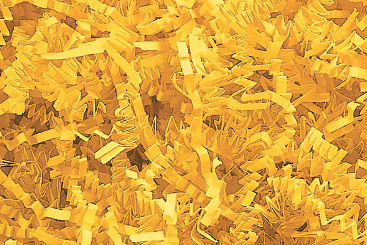 Yellow Decorative Shredded Paper