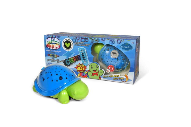 Alpha Loom with SuperMax the Turtle Soother