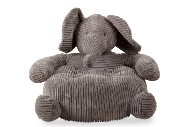 Corduroy Elephant Plush Chair
