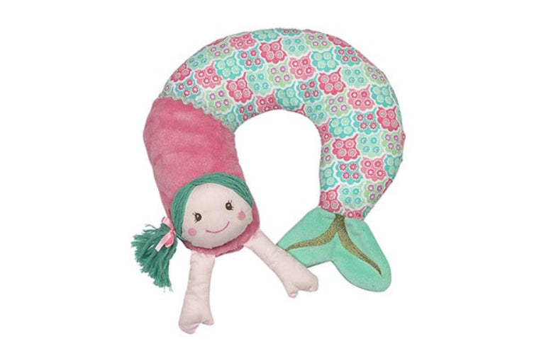 Shellie Mermaid Travel Pillow
