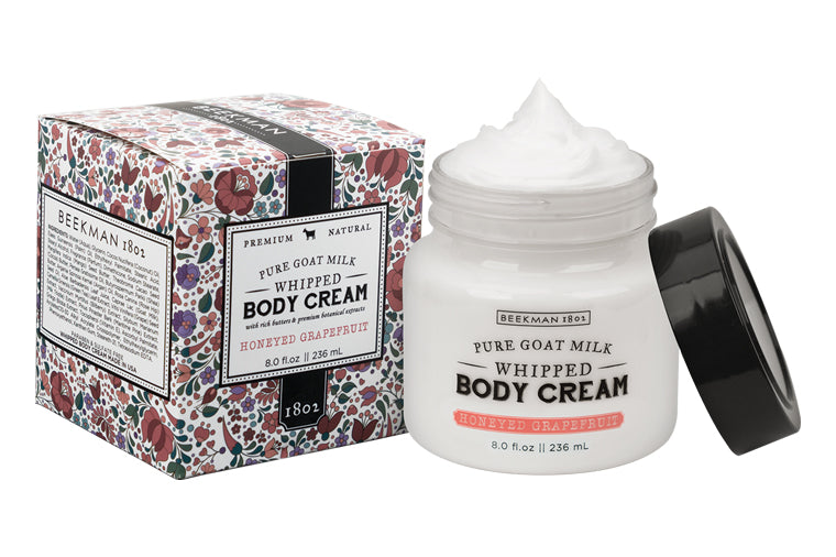 Honeyed Grapefruit Whipped Goat Milk Body Cream