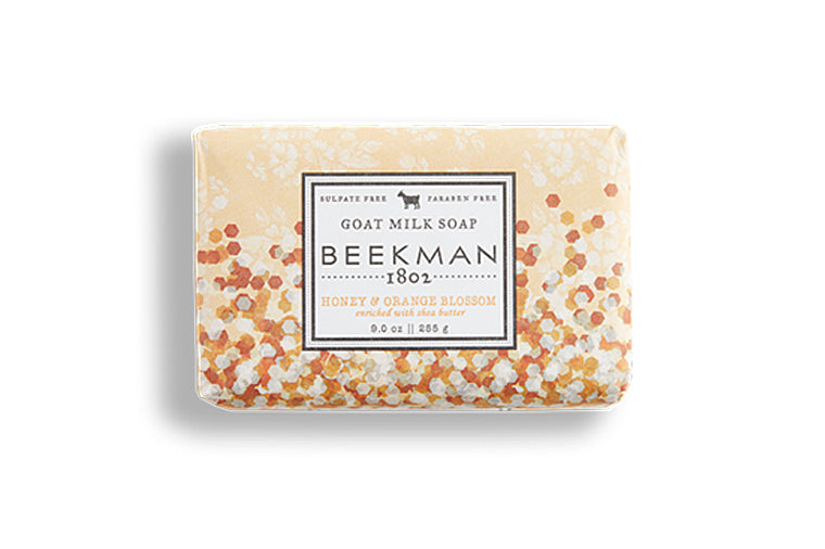 Honey Orange Blossom Goat Milk Bar Soap