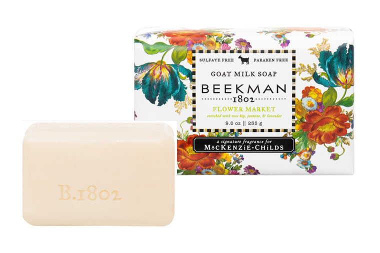 Flower Market Goat Milk Bar Soap
