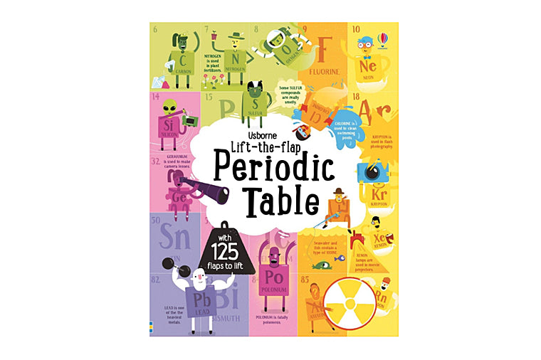 Lift-the-flap Periodic Table book