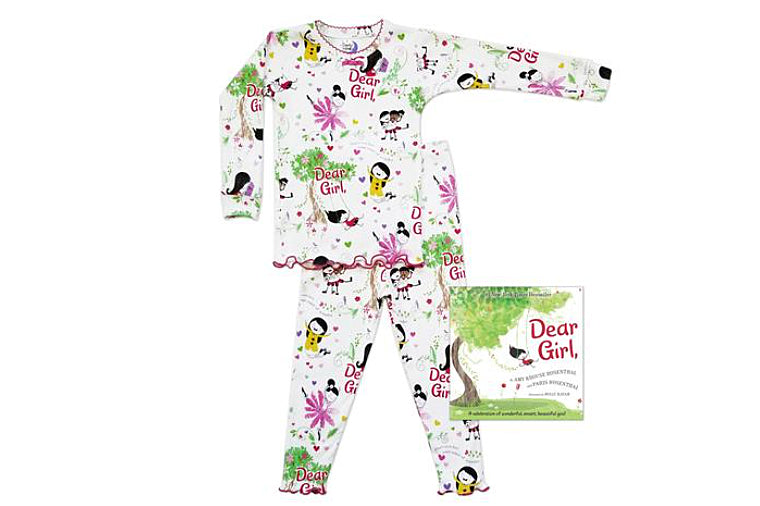 Dear Girl Book and Pajama Set