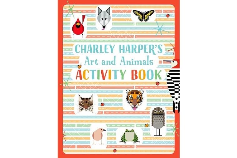 Charley Harper's Arts & Animals Activity Book