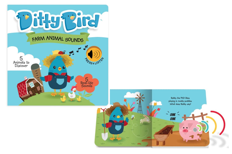 Ditty Bird Farm Animal Sounds