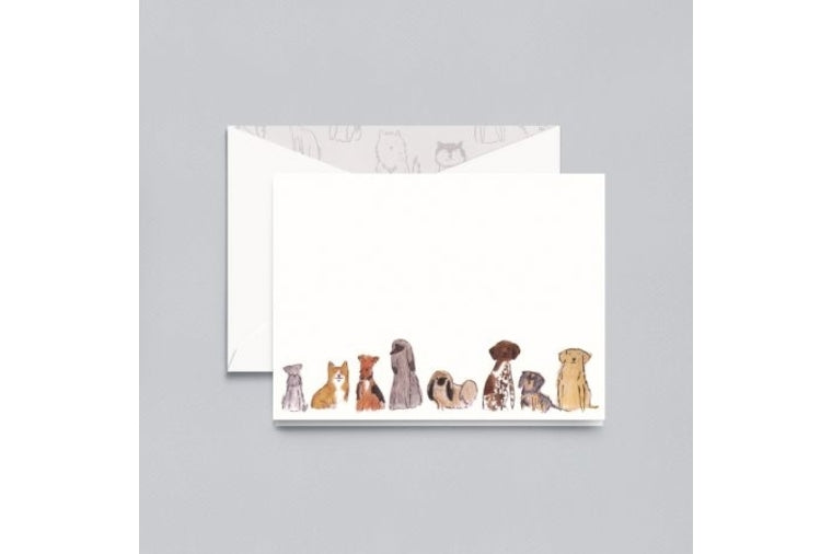 Dogs Note Cards