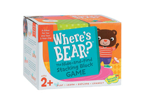 Where's Bear Stacking Game