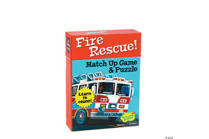 MindWare - Fire Rescue Numbers Match Up