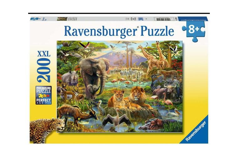 Animals of the Savannah Puzzle