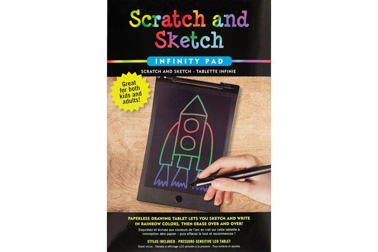 Scratch and Sketch Infinity Pad