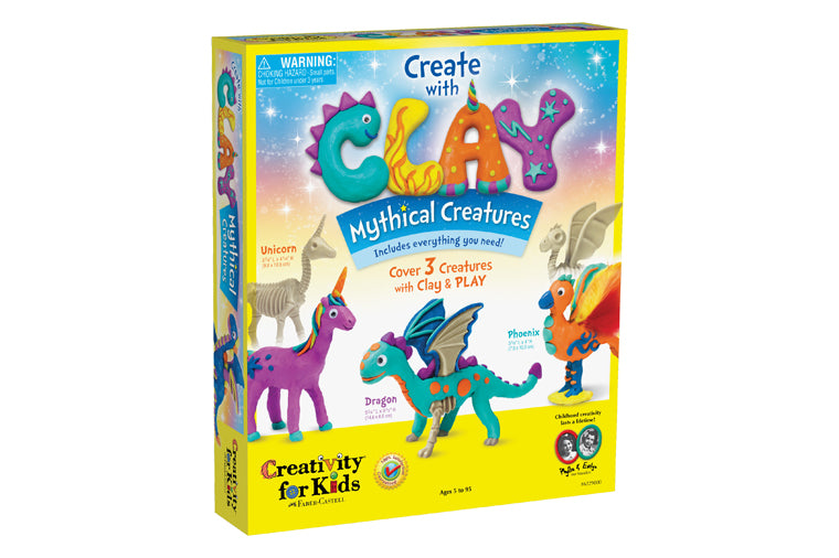 Create with Clay: Mythical Creatures
