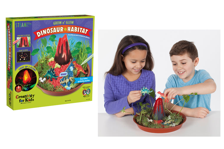 Grow and Glow Dinosaur Habitat