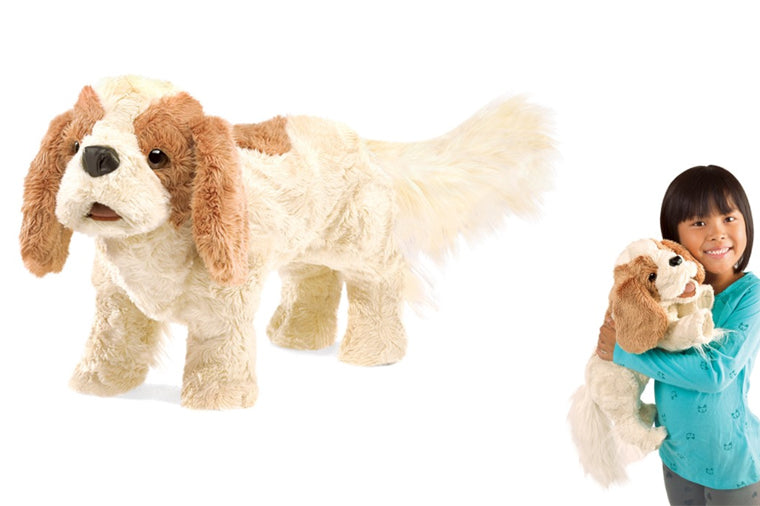 Cavalier King Charles Spaniel Puppet