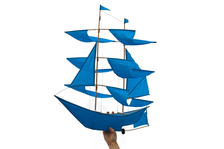Azure Sailing Ship Kite - Haptic Lab