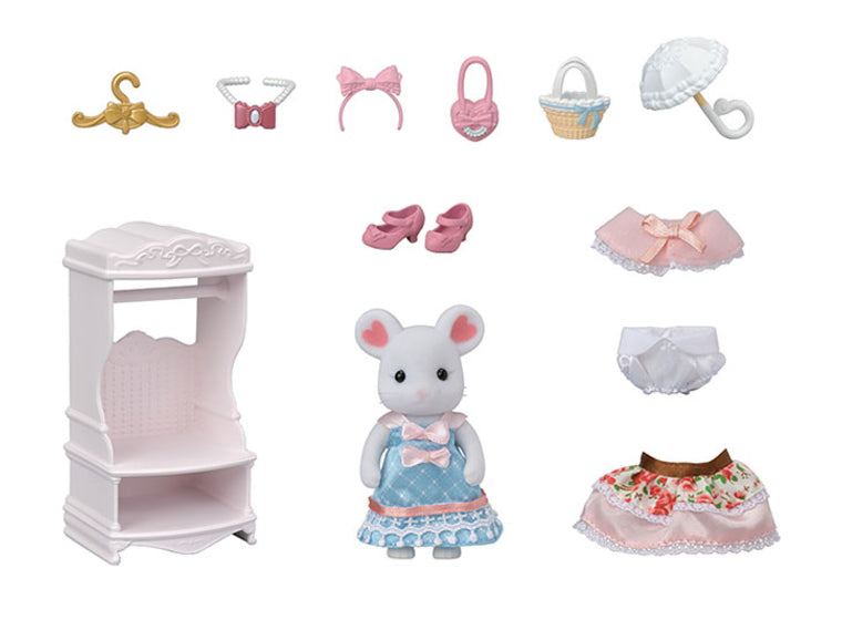 Calico Critters - Sugar Sweet Fashion Playset
