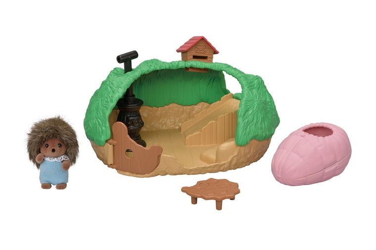 Calico Critters - Baby Hedgehog Hideout