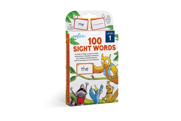 eeBoo - Sight Words Level 1 - Flash Cards