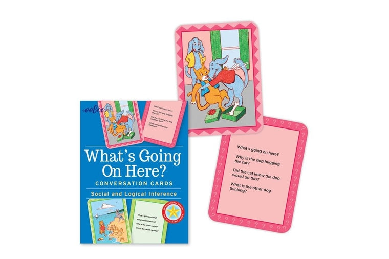 eeBoo - What's Going On Here? -  Conversation Cards