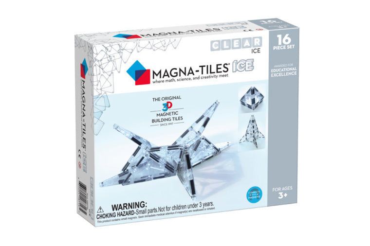 Magna-Tiles Ice 16-Piece Set