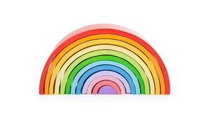 Rainbow Stacker - Wooden - Big Jig Toys