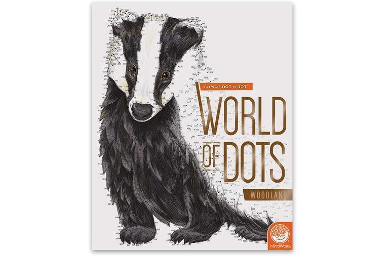 MindWare - Extreme Dot to Dot Woodlands Book