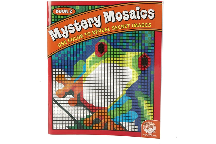 Mystery Mosaics Color by Number Book 2
