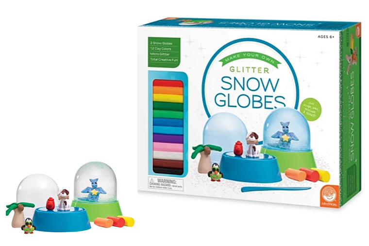 Make Your Own - Glitter Snow Globes