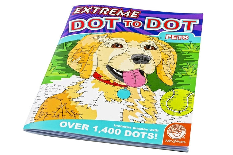 Extreme Dot to Dot Pets Book