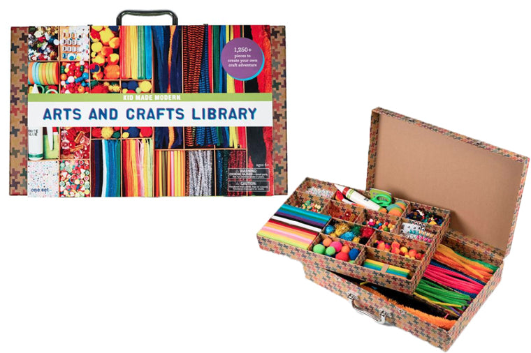 Arts and Crafts Supply Library - Kid Made Modern