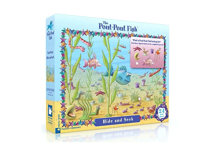 Pout-Pout Fish Hide and Seek Puzzle