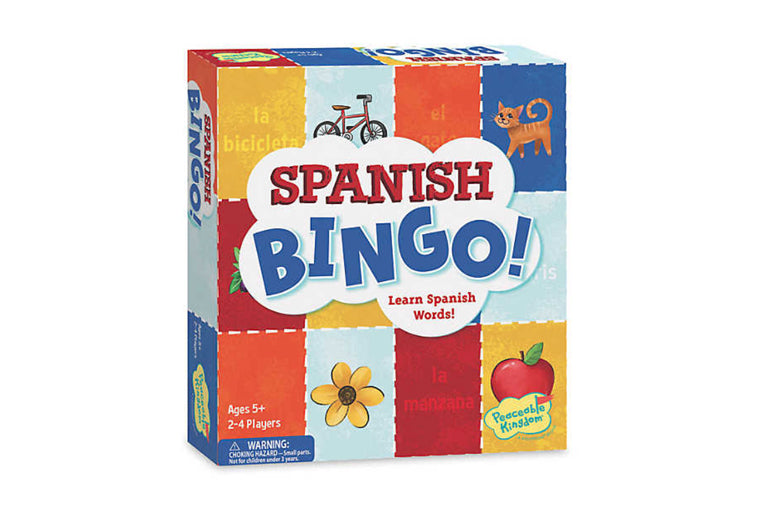 Peaceable Kingdom - Spanish BINGO!