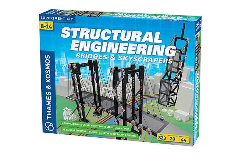 Bridges and Skyscrapers Engineering Kit
