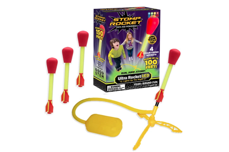 Ultra LED Stomp Rocket