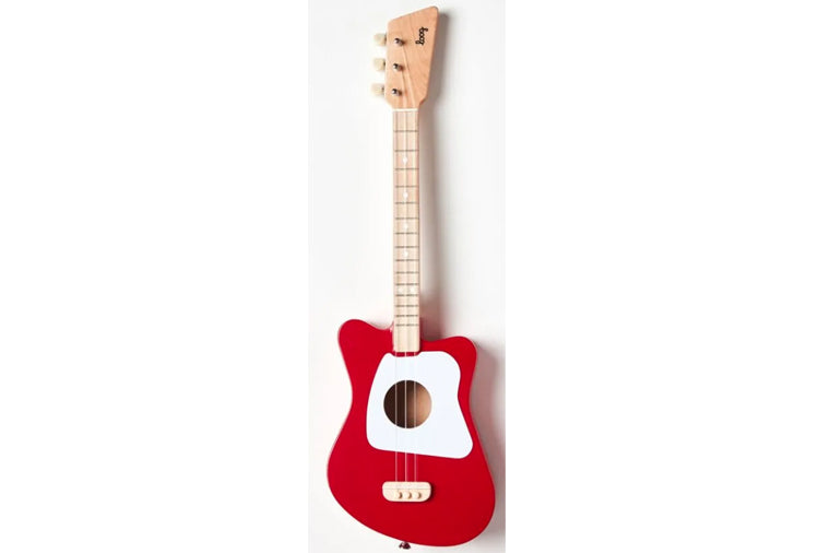 Mini Guitar, red
