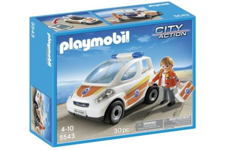 Emergency Vehicle - Playmobil