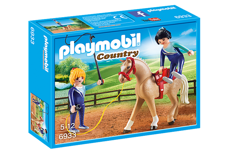 Horse Vaulting - Playmobil