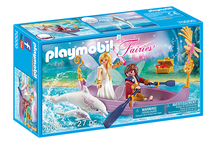 Romantic Fairy Boat - Playmobil