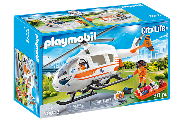 Playmobil - 911 Rescue Helicopter