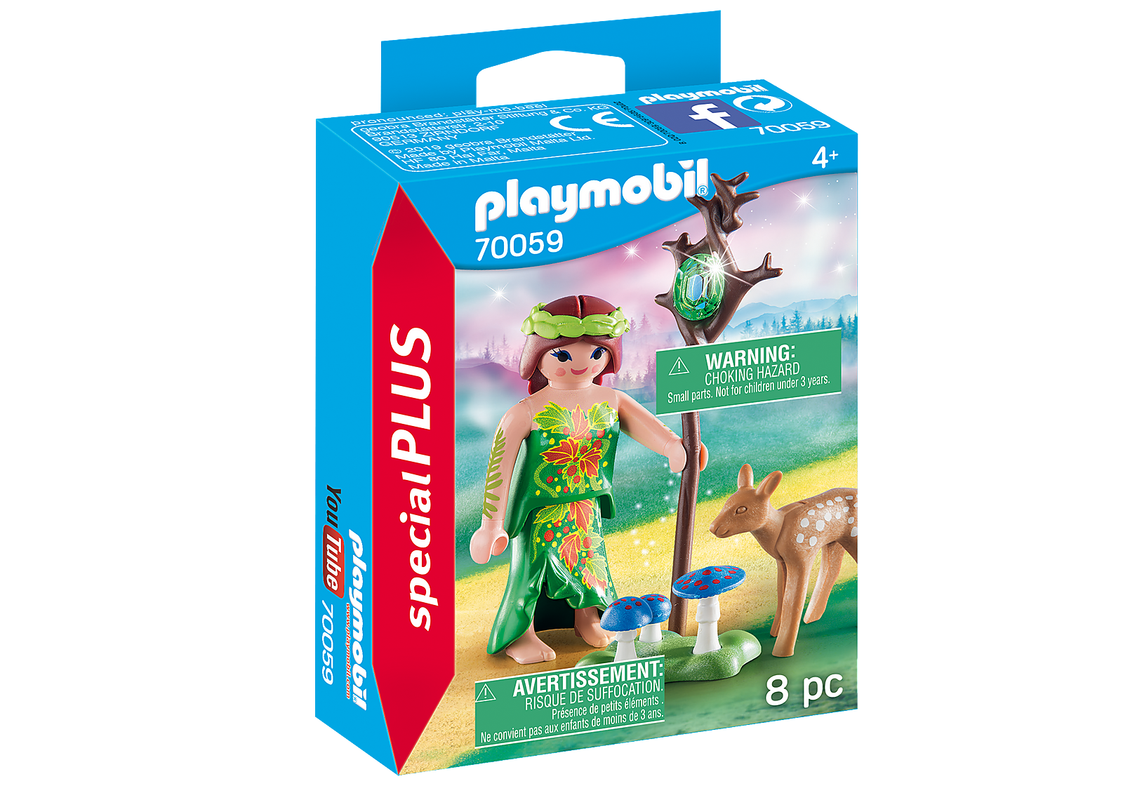 Fairy with Deer - Playmobil