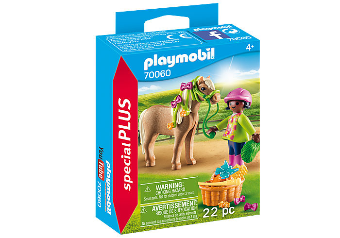 Girl with Pony Duo Set - Playmobil